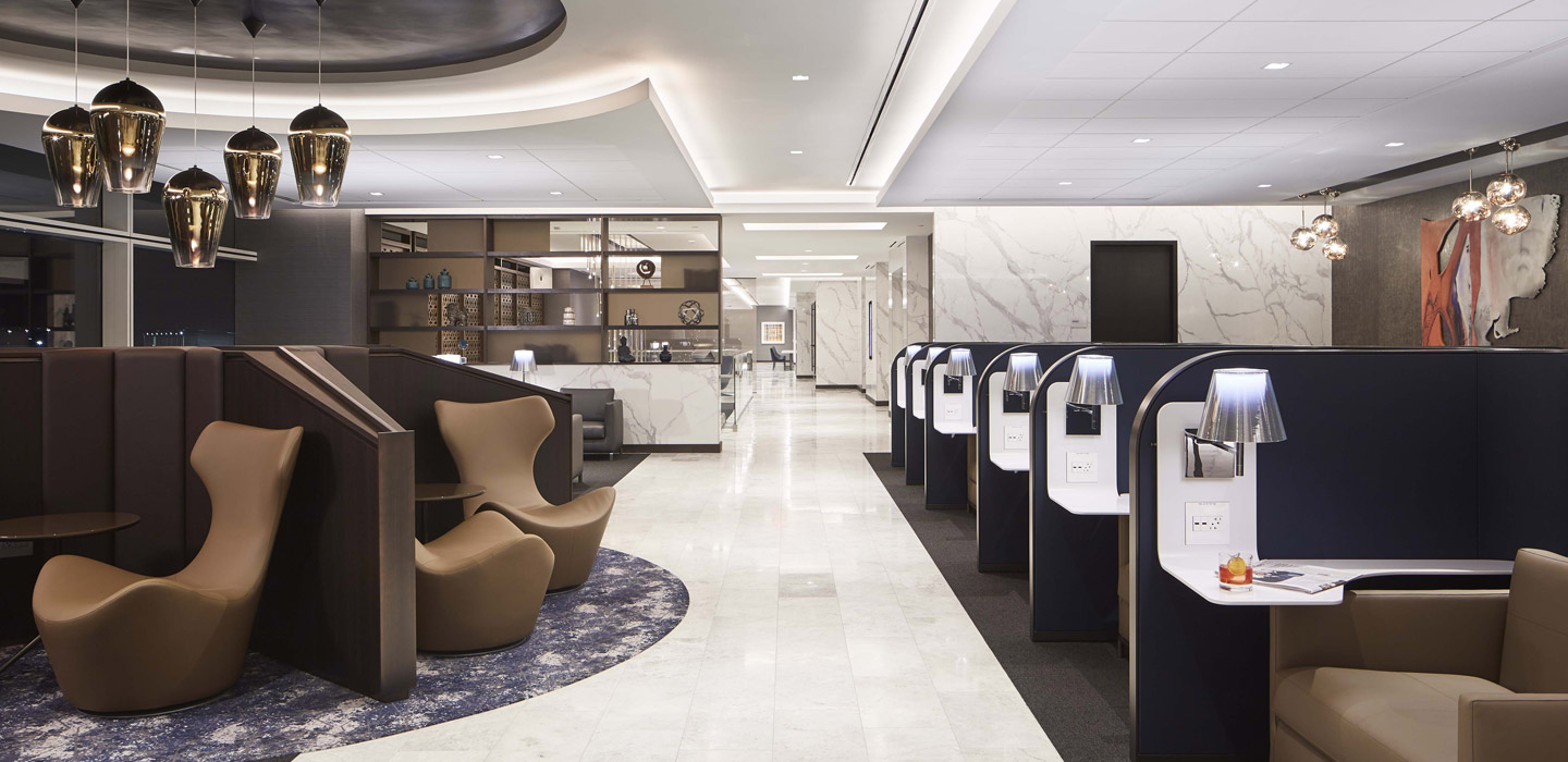 Estaciónes y Aeropuertos - UNITED AIRLINES POLARIS LOUNGES